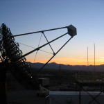 Very Energetic Radiation Imaging Gamma Ray Telescope Array System . Image courtesy of the Fred Lawrence Whipple Observatory
