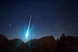 Meteor. Photo courtesy of Scienceblog.com
