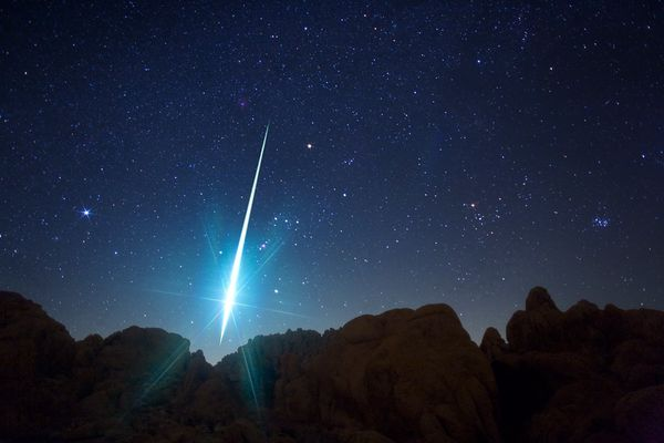 Meteor. Photo courtesy of Scienceblog.com