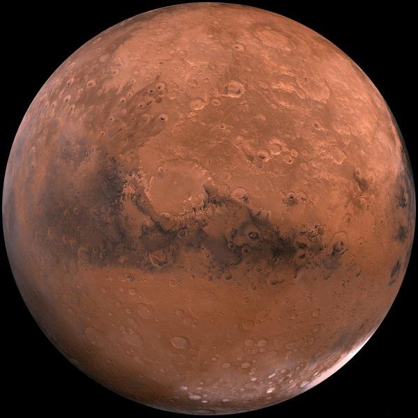 Image of Mars. Credit: Smthsonian