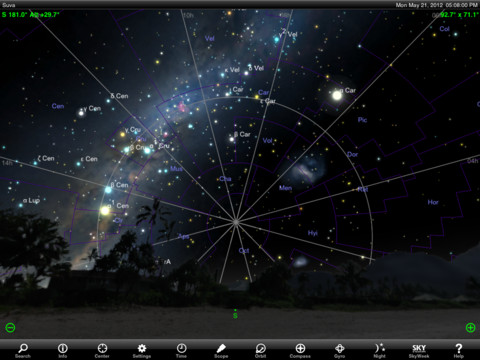 Star Charts – The Center For Planetary Science