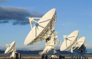 Radio Astronomy: The Very Large Array in New Mexico, an example of a radio telescope.