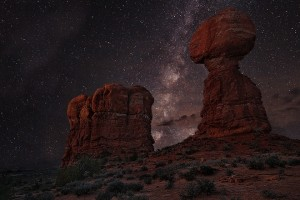 Balanced+Rock+Milky+Way+-+Photography+by++Jerry+Patterson++http--smu.gs-1rt8eh4+#longexposure+#desert+#milkyway