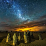 Meteor Shower Yifan Bai Photography 500px.com_photo_92890975 #desert #light #long exposure